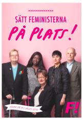 sätt feministerna på plats