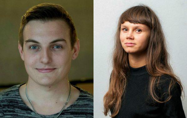 Joakim Månsson Bengtsson och Gubb Marit Stigson är två av de som står bakom Fi:s motioner.Bild: Ingemar D kristiansen, Feministiskt initiativ