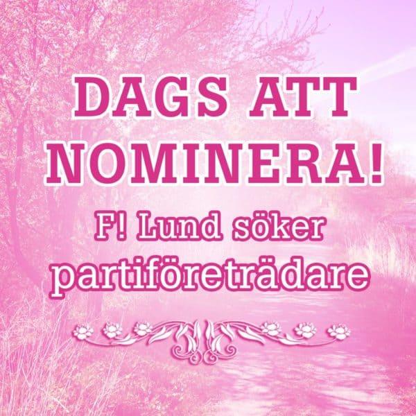 nominera PF